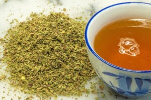 czystek jako herbata
